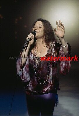 Janis Joplin Performing Really Nice 8X10 Photo