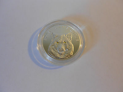 Belarus 2007 20 Rubles Wolf Proof .999 Silver Coin SWAROVSKI® Crystals