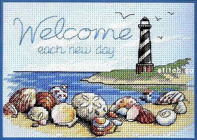 Welcome Each Day - Cross Stitch Chart - Free Postage