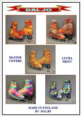 Ice Skating / Roller Skating  Lycra Print Boot Covers No 2