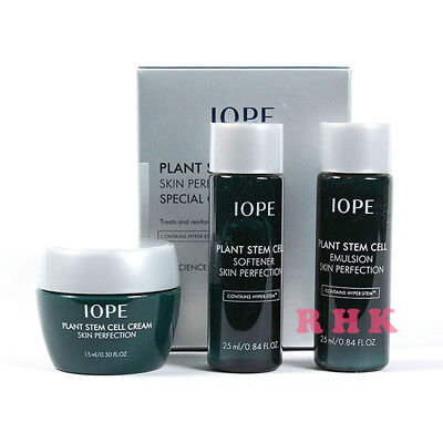 IOPE Plant Stem Cell Special Gift Set Travel Kit Anti-aging /Korea AMORE PACIFIC