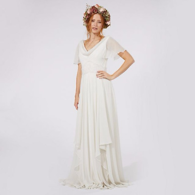 Debut Size 18 Ivory 'Honesty' floral wedding dress £320 Debenhams BNWT