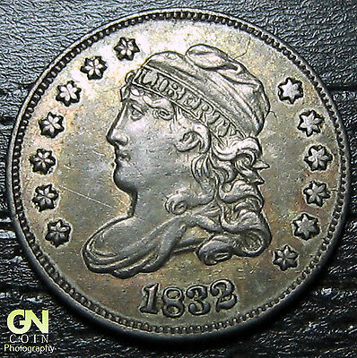 1832 Capped Bust Half Dime R3 LM8.1  --  MAKE US AN OFFER!  #O5705
