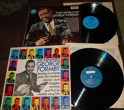 GEORGE FORMBY LP's ~ THE WORLD OF GEORGE FORMBY & I'M THE UKELELE MAN