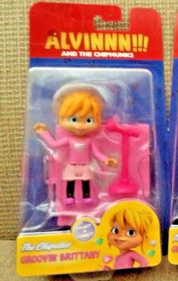 NEW! Alvin & The Chipmunks The Chipettes Brittany connect & collect figure *new*