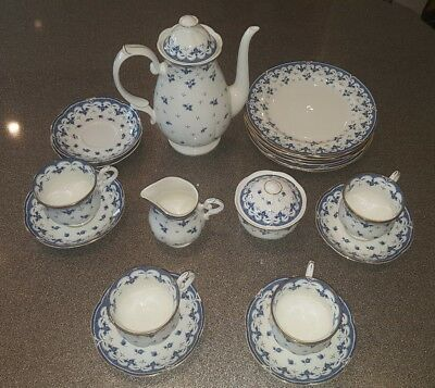Zepter International Eden Fine Bone China coffee/tea set