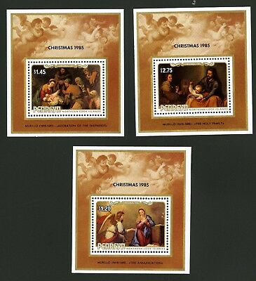Penrhyn Islands   1985   Scott # 331-333    Mint Never Hinged Set