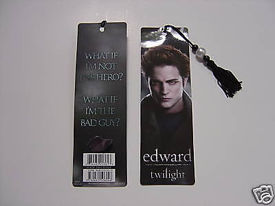 NEW Twilight Movie Beaded Bookmark Edward Cullen