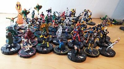 Heroclix Huge lot of X-Men figures loose for sale