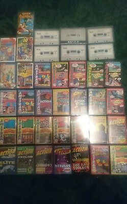 26 AMSTRAD ACTION tapes, Big Box collection of 30 games + 5 classics, 464 plus