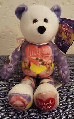 COLLECTIBLE I Love Lucy episode 39 beanie bear