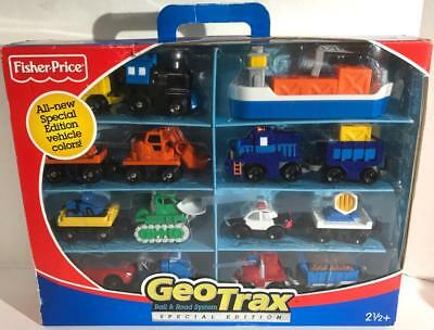 Geotrax Rail & Road System Special Edition Fisher Price Vehicle NEW Geo Trax NIB