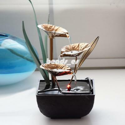 Relaxation Fountain Waterfall Desktop Small Water Sound Indoor Table Decoration