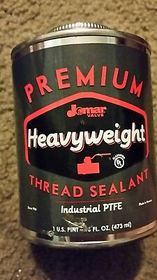 JOMAR VALVE - THE HEAVY General Purpose Thread Sealant 16oz Can 400-204 White