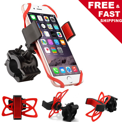 Universal Bicycle Bike Handlebar Cell Phone Holder Mount for iPhone 6s 7 8 X