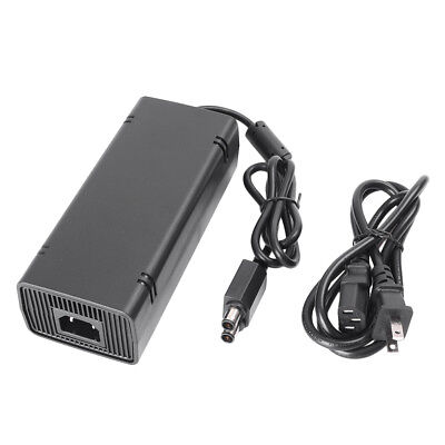 SLIM AC Power Supply Charger Adapter Cable Cord brick for Microsoft Xbox 360 S