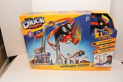 Playskool Tonka Chuck and Friends Tornado Tower Playset  Brand New 2012