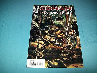 Conan And The Demons Of Khitai 3 Rare Recalled Nude Variant!