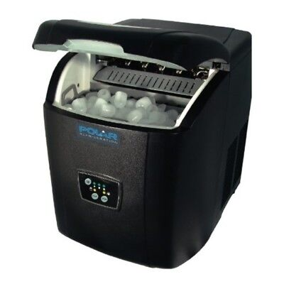Polar Manual Fill Counter Top Ice Maker with 10 Kg Output Per 24 Hours Commercia
