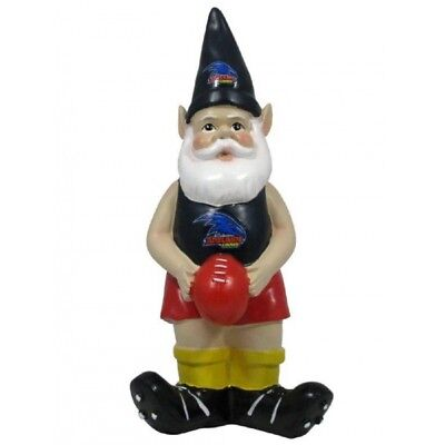 Adelaide Crows Official AFL Garden Gnome with Football