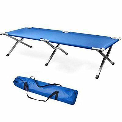 Single Aluminum Portable Folding Camping Bed & Cot - Portable Bed...