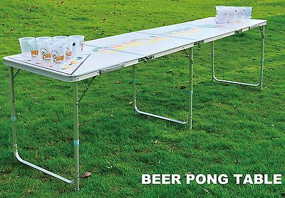 New 8FT Beer Pong Table