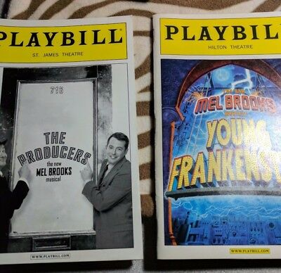 A lot of 5 Broadway Playbill  Magazines