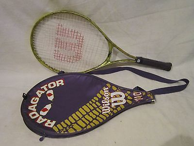 Wilson Tennis Racquet With Its Original Cover Radagator 110