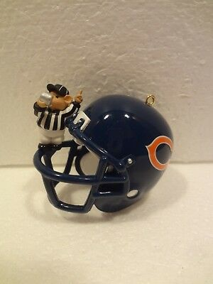 Hallmark  Orn - Nfl Collection -  Bears - 25 Years Of Collecting Memories  1998