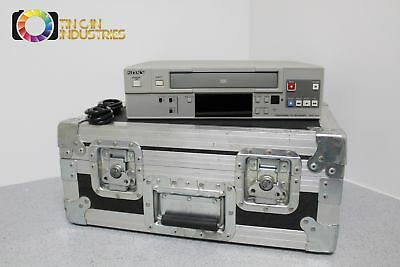 Sony SVO-1430 Professional VCR Fully Tested Road Case Included FREE SHIPPING