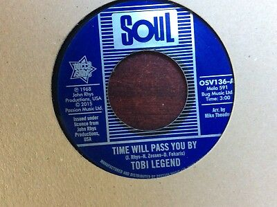 Tobi Legend - Time Will Pass You By