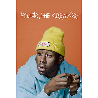 Custom Personalized ASAP Rocky and Tyler the Creator Silk Poster Wall Decor