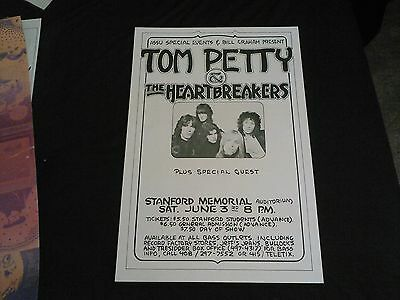 Tom Petty   Concert Poster