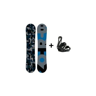 Pack Snowboard Homme Burton Clash + Fix Freestyle