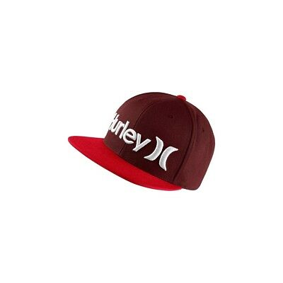 Casquette Hurley One&only Snapback Mahogany