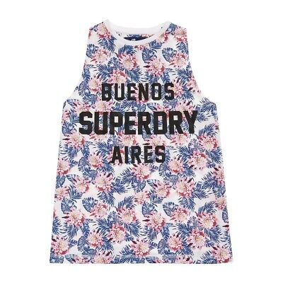 Débardeur Superdry Boyfriend Jungle Tropical Flower
