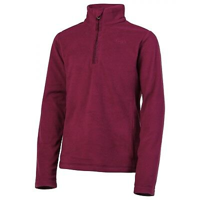 Polaire Protest Mutey Jr 1/4 Zip Beet Red