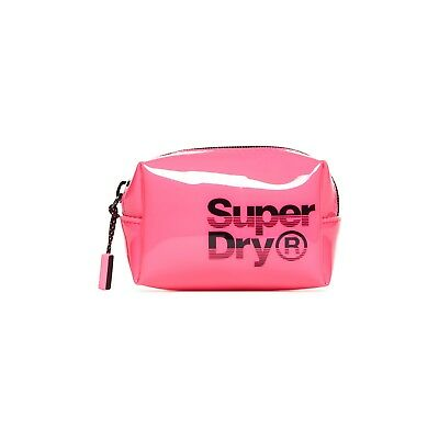 Trousse Superdry Super Jelly Bag Neon Pink