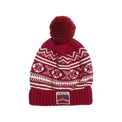 Bonnet Superdry Maribo Beanie Red