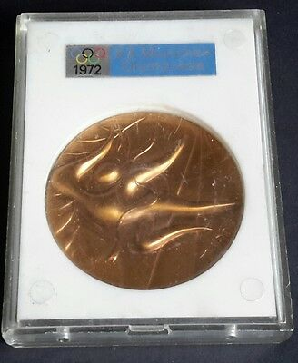 1972 Munich Olympic Games medal by Taro boxed