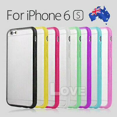 iPhone 4 4S 5 5S 5C 6 6S Plus Case for Apple PC Matte Hard Soft Gel Cover