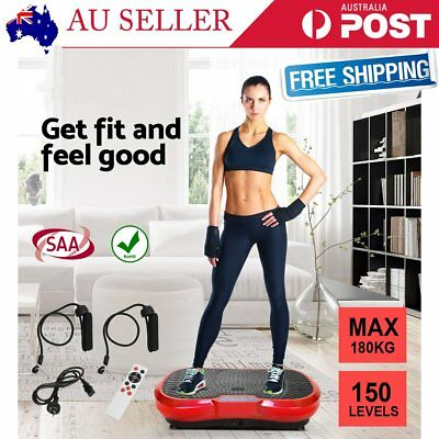 Vibration Machine Exercise Vibrating Plate Platform Trainer Body Shaper Fitness