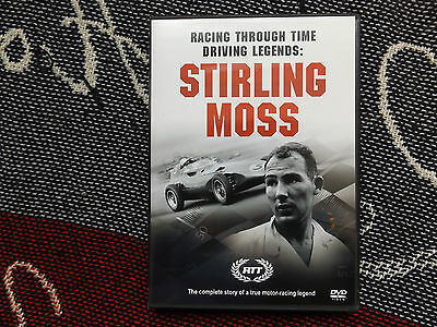 Racing Through Time Driving Legends: Stirling Moss - Region 2 Dvd - F1