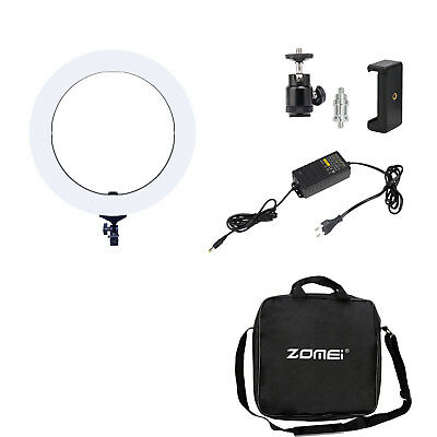 ZOMEI  55W 5500K 18-inch LED Ring Light Lighting Kit for Camera Smartphone Video