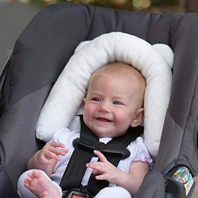 Eddie Bauer Baby Infant Head & Neck Support Bunny - Great For Car Seats Bounc...