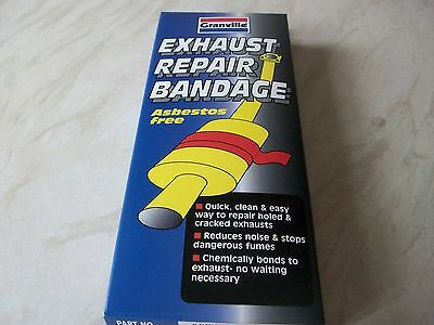 exhaust repair bandage