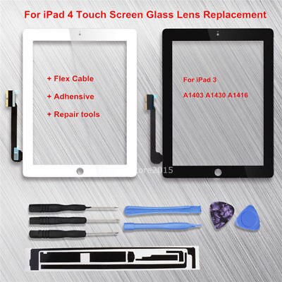 For iPad 3 A1403 A1430 A1416 Great Digitizer Replacement Touch Screen Glass Lens