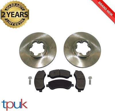 Brand New Ford Transit Mk7 Front Brake Pads And 2 Discs 2006 On 2.4 Rwd