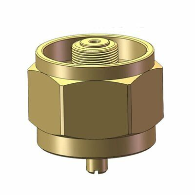 Outdoor Camping Hiking Stove Burner Adaptor Safe Copper Stoves Gas Adapter EW