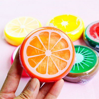 NEW Kid Fruit Crystal Clay Putty Jelly Slime Plasticine Mud Educational Toys xc